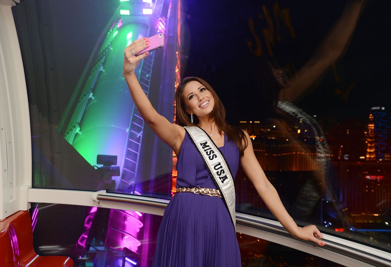 Nia Sanchez – The High Roller at The LINQ in Las Vegas – July 2014