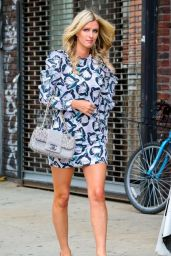 Nicky Hilton Parades Her Lean Legs - Shopping in New York City - July 2014