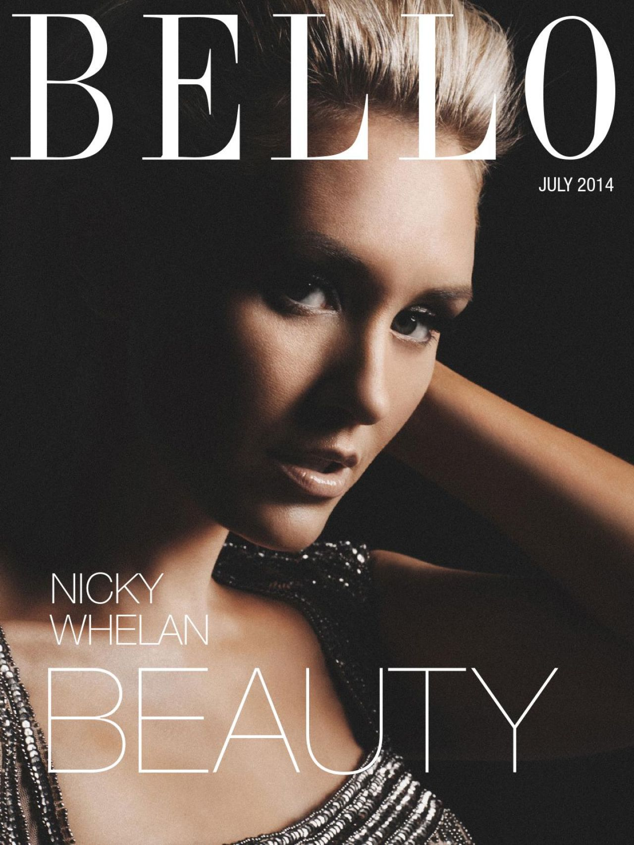 Nicky Whelan - Bello Magazine July 2014 Issue