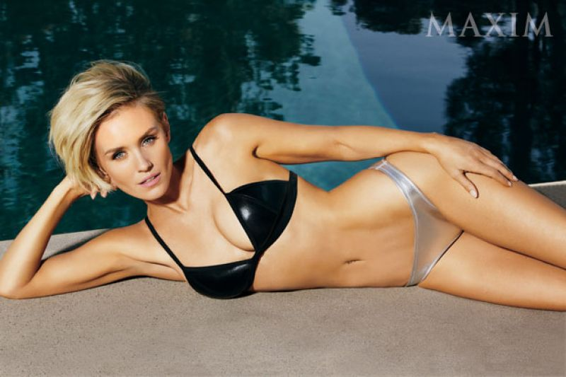 Nicky Whelan in a Bikini - Maxim Magazine July/August 2014 Issue