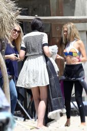Nicola Peltz Photoshoot Set Photos in Malibu - July 2014