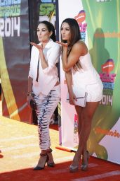Nicole Garcia & Brianna Garcia - Kids Choice Sports Awards in Los Angeles