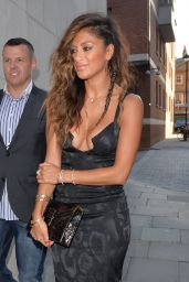 Nicole Scherzinger Arriving at Zuma Restaurant in London - July 2014