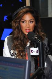 Nicole Scherzinger on Air - Kiss.FM Studios - July 2014