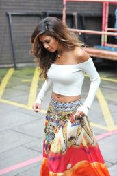 Nicole Scherzinger - Outside the ITV Studios in London – July 2014