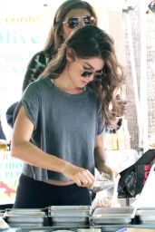 Nikki Reed Visited Farmer