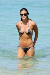 Nina Agdal Hot in a Bikini in Miami, July 2014