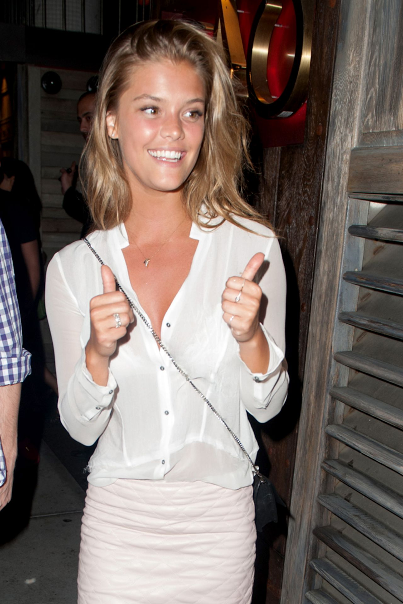 Nina Agdal - Tao Downtown in New York City - July 2014