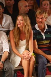 Nina Agdal - TRESemme at the Beach Bunny - Mercedes-Benz Fashion Week Swim 2015