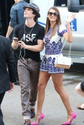 Nina Dobrev Arrives at SDCC, July 2014