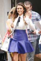 Nina Dobrev Arriving at Сomic Сon in San Diego - July 2014