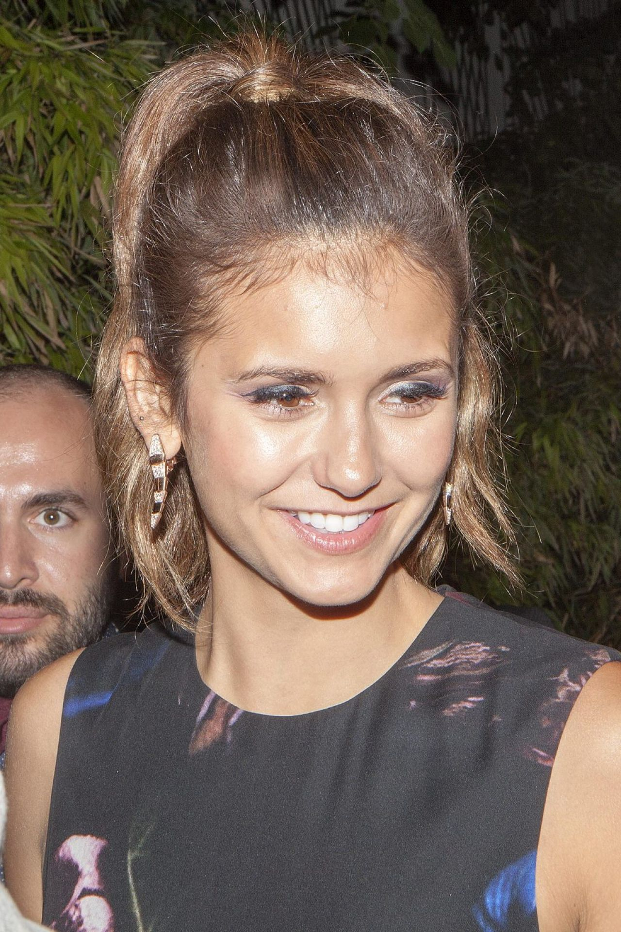 Nina Dobrev at Bulgari Cocktail Event at Apicius in Paris - July 2014