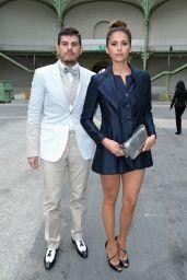 Nina Dobrev - Chanel Fashion Show During Paris Fashion Week – July 2014