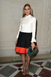 Olivia Palermo - Valentino Fashion Show - Paris Fashion Week – July 2014
