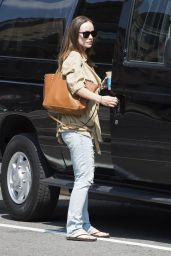 Olivia Wilde Street Style - Out in New York City - July 2014