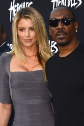 Paige Butcher and Eddie Murphy – 'Hercules' Premiere in Los Angeles