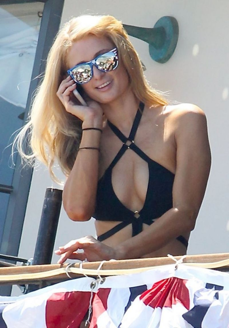 Paris Hilton - 4th of July Party in Malibu