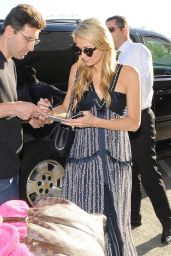 Paris Hilton Arriving at LAX Airport in Los Angeles - July 2014