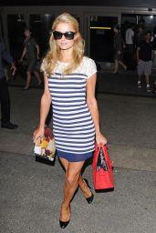 Paris Hilton at LAX Airport - July 2014