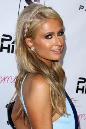 Paris Hilton Wears Alon Livné Dress - New Single