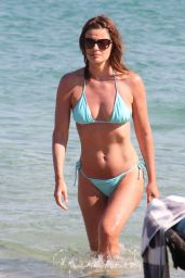 Paulina Porizkova in a Bikini on Vacation - July 2014