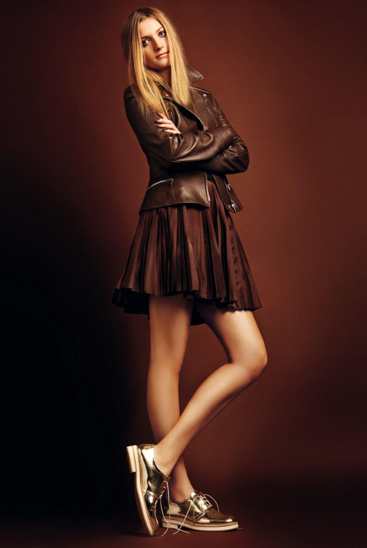 Petra Kvitova Photoshoot For Elle Magazine 2014