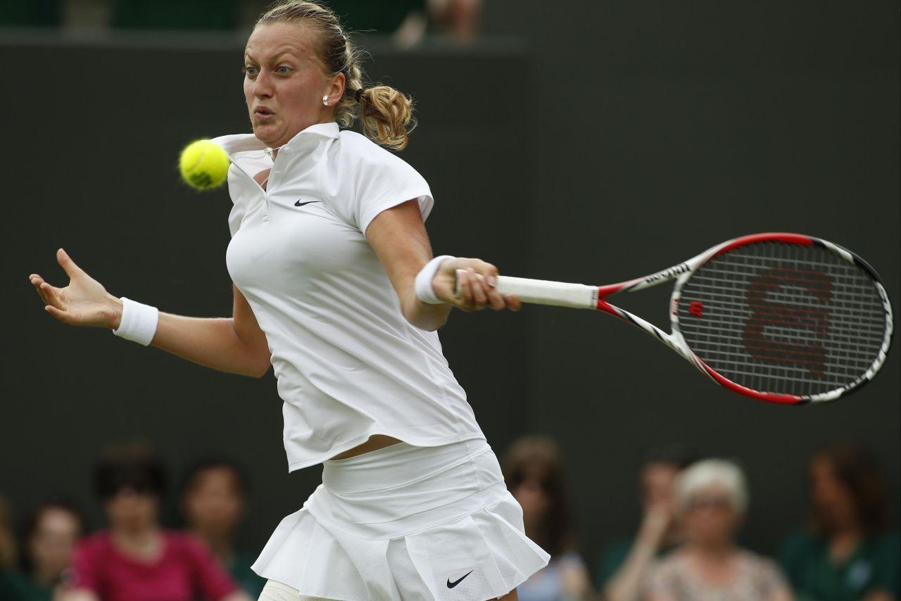 Petra Kvitova Wimbledon Tennis Championships 2014 145