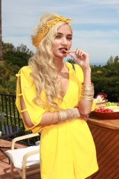 Pia Mia Perez at Annex Magazine Cover Party in Malibu - July 2014