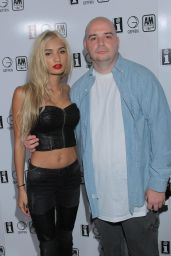 Pia Mia Perez at Interscope Records Pre-Party - June 2014