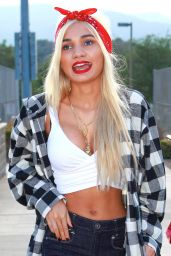 Pia Mia Perez – Chris Brown & Quincy Kick'n It For Charity – July 2014
