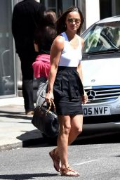 Pippa Middleton Casual Style - Out in Chelsea, London - July 2014