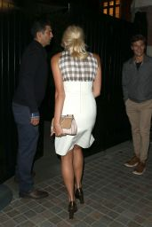 Pixie Lott Night Out Style - Araving at The Chiltern Firehouse in London - July 2014