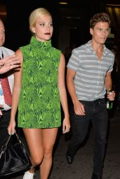 Pixie Lott Night Out Style - Leaving Century Club in London, July 2014