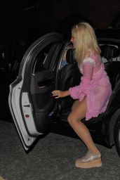 Pixie Lott Night Out Style - Leaving Freedom Barm, July 2014