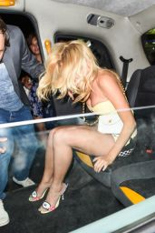Pixie Lott Night Out Style  - London, July 2014