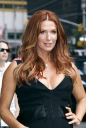 Poppy Montgomery at The Late Show with David Letterman in New York City - July 2014