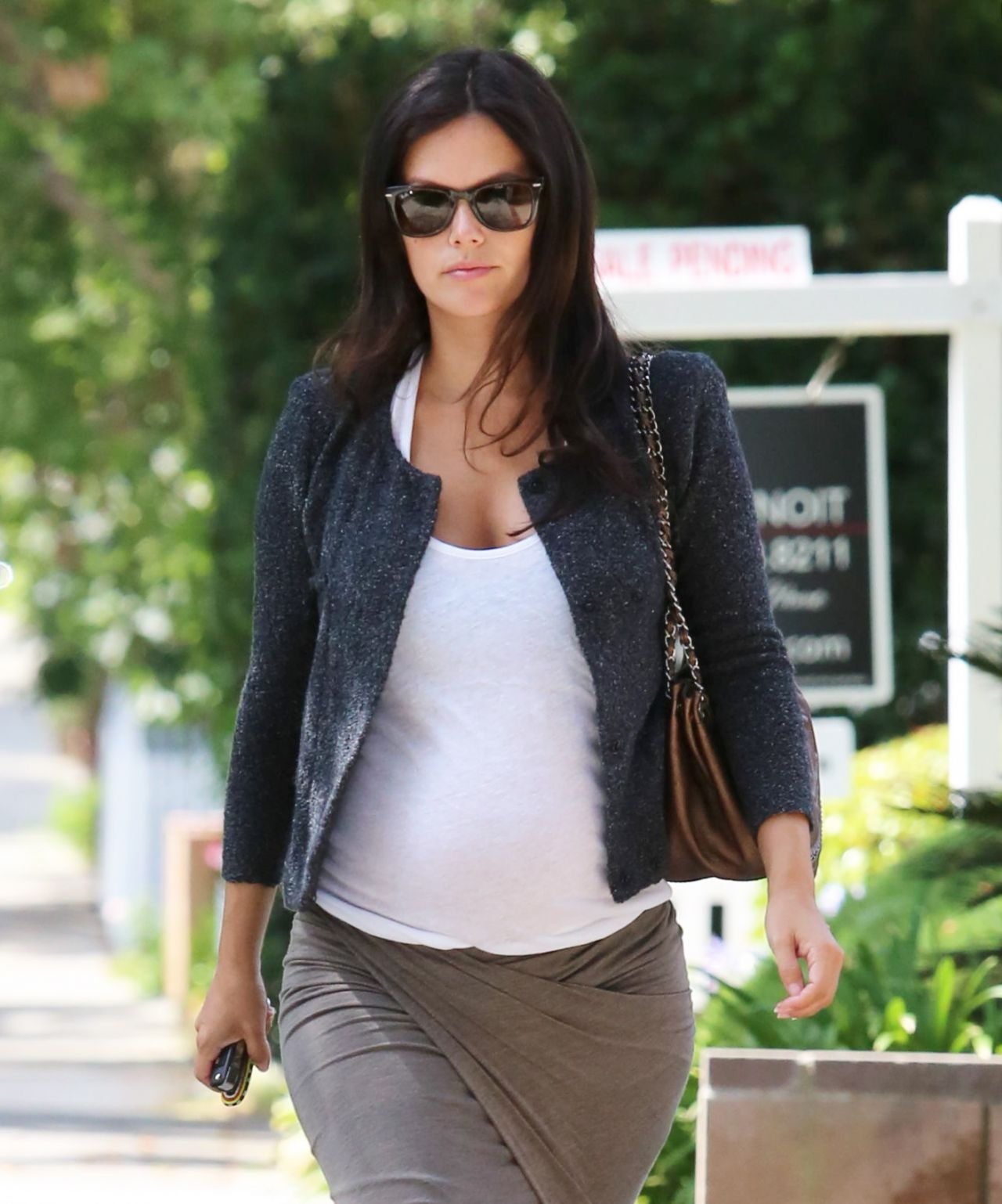 Rachel Bilson Street Style - Out in West Hollywood - July 2014