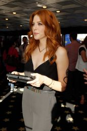 Rachelle Lefevre - Nintendo Lounge on the TV Guide Magazine Yacht at 2014 Comic-Con in San Diego