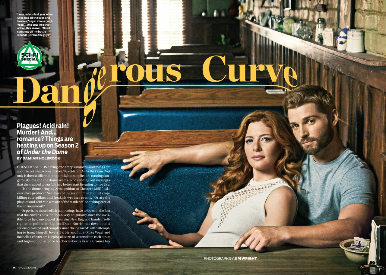 Rachelle Lefevre - TV Guide Magazine - July 28, 2014