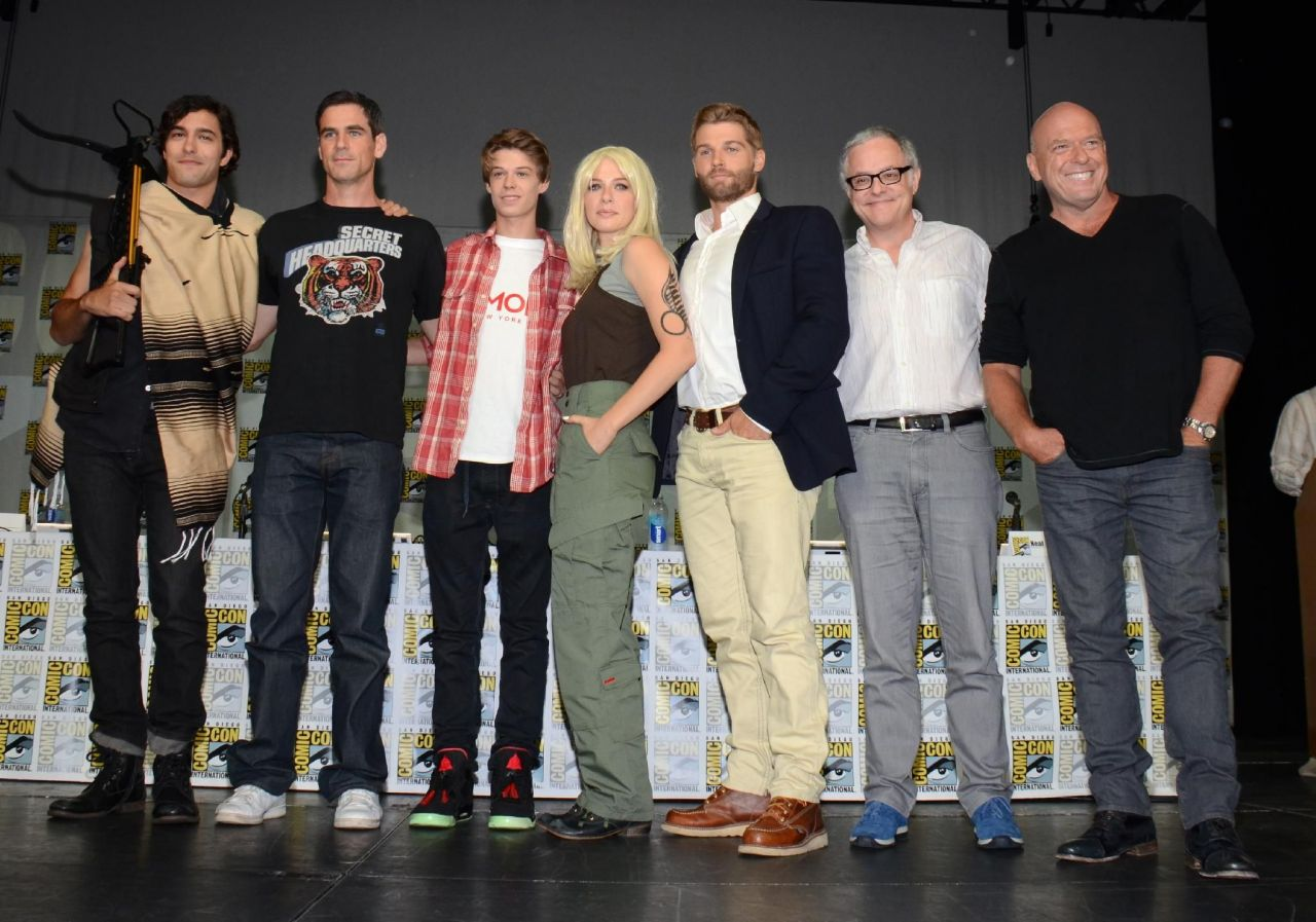 Rachelle Lefevre - Under The Dome Panel at Comic-Con 2014 in San Diego