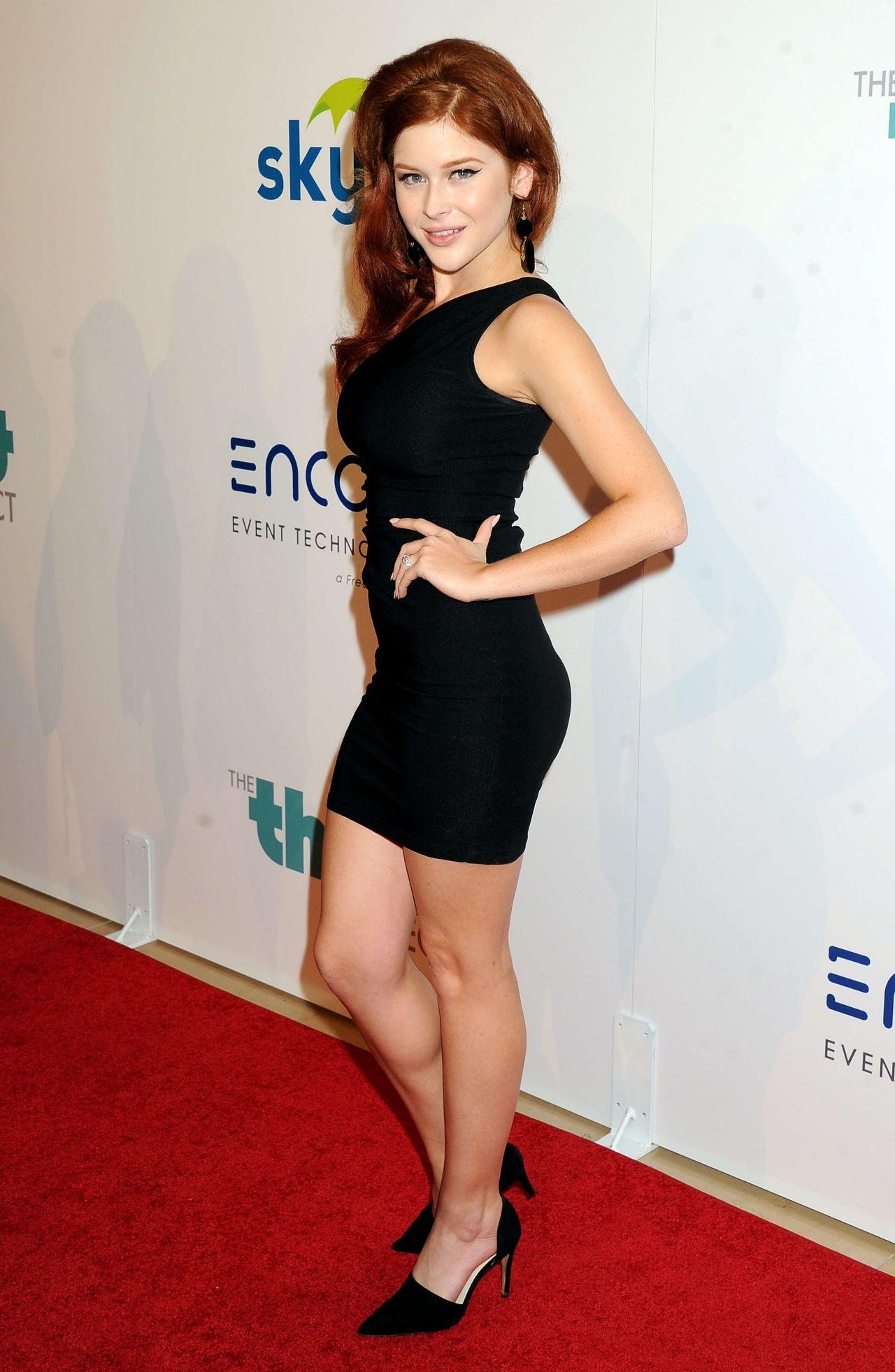 Renee Olstead 2014 Thirst Gala In Beverly Hills