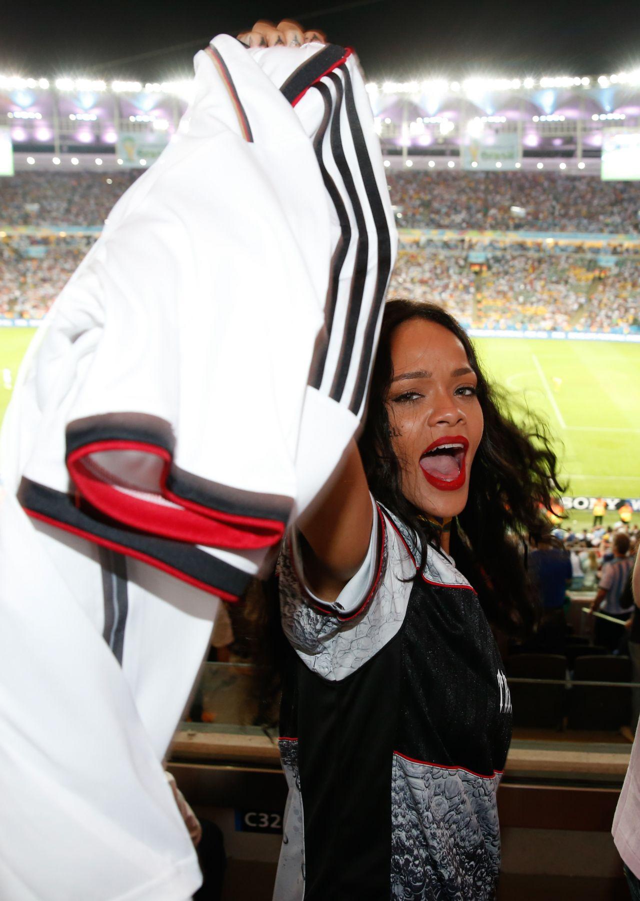 Rihanna - 2014 FIFA World Cup Final at Maracana Stadium, Rio de Janeiro