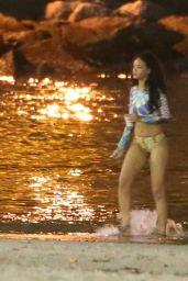 Rihanna Bikini Candids - Rio de Janeiro, July 2014