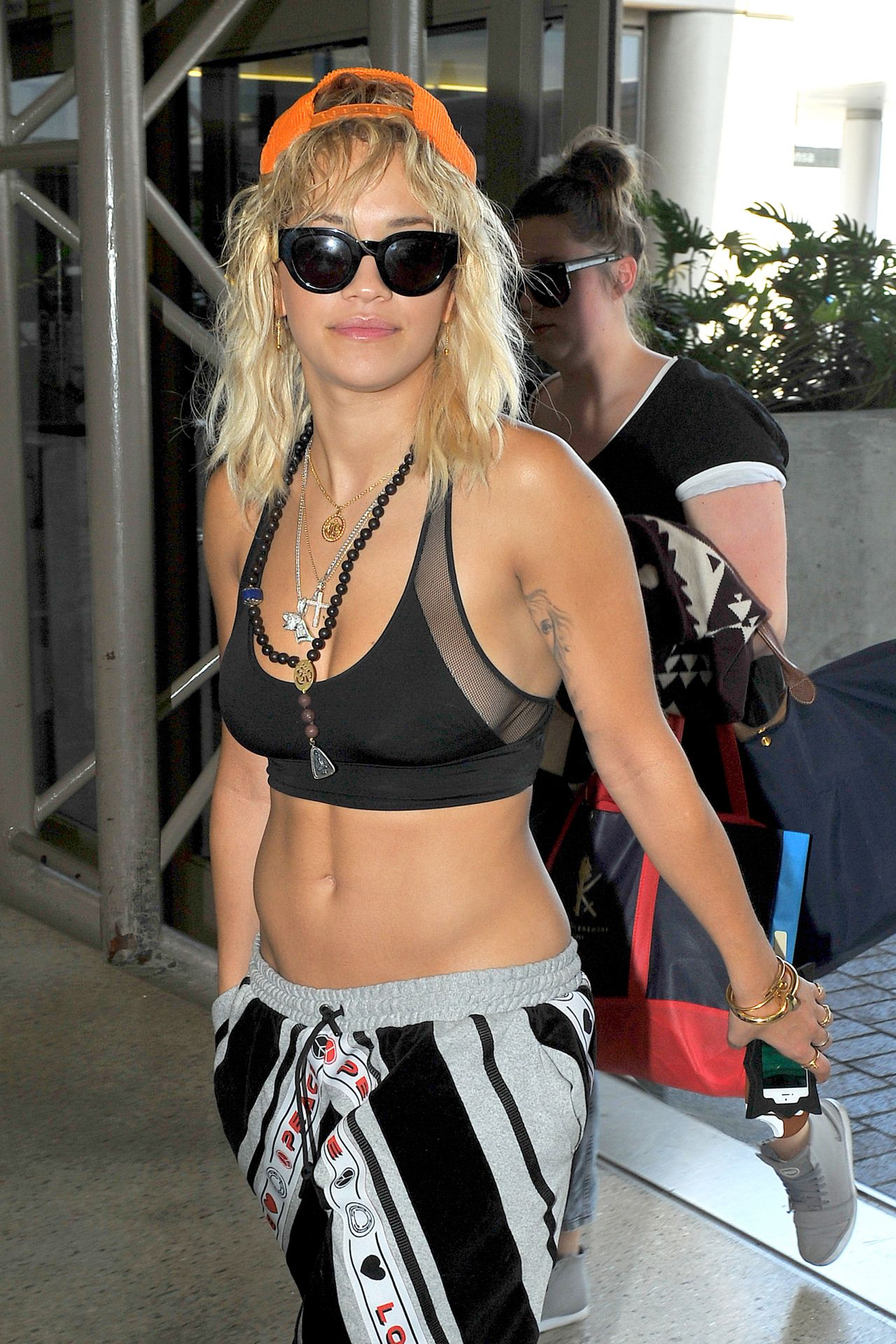Rita Ora at LAX Airport in Los Angeles - July 2014