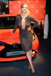 Rita Ora at Toyota Aygo Launch in Berlin - July 2014