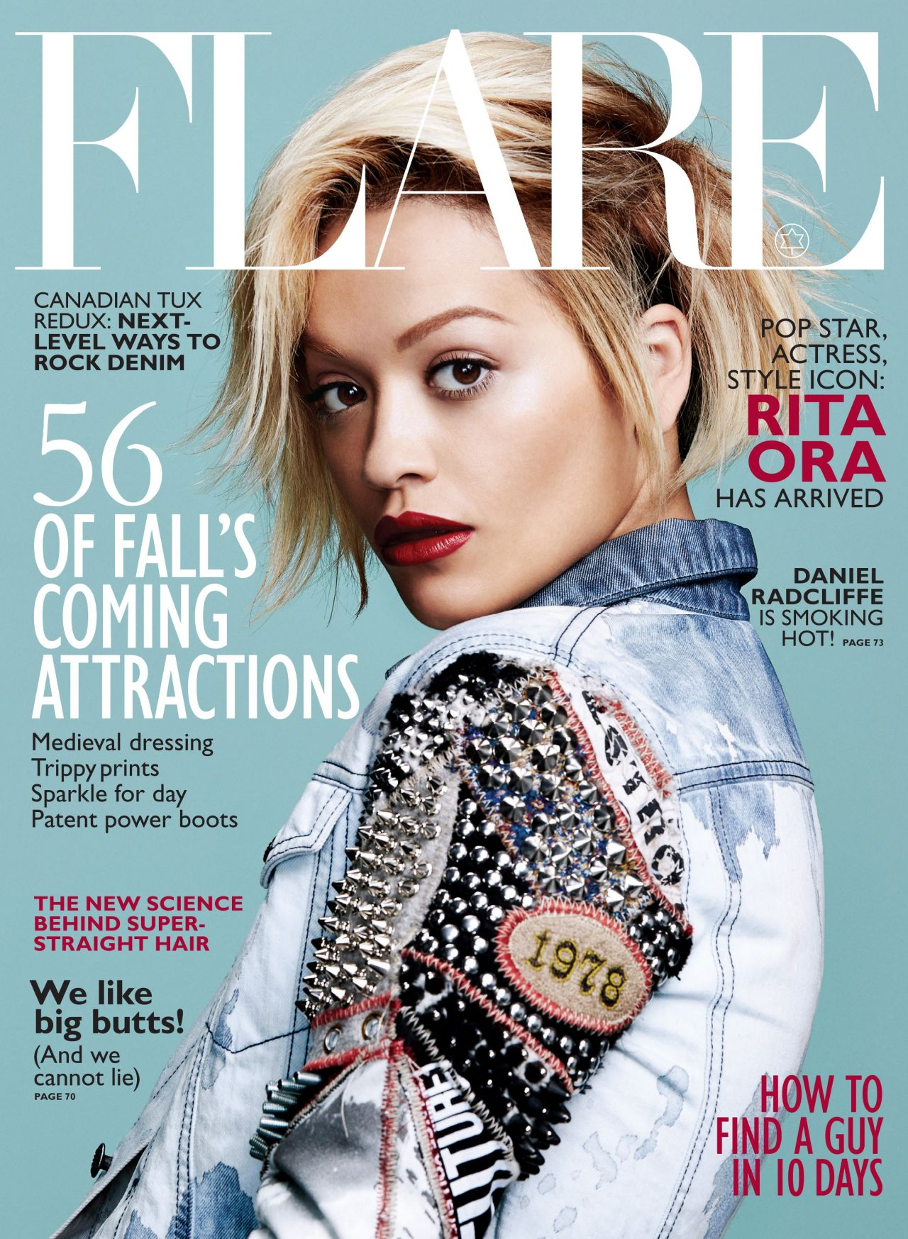 Rita Ora - Flare Magazine (Canada) - August 2014 Issue