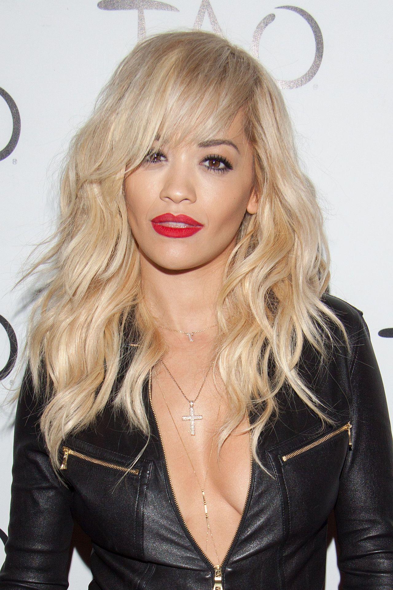 Rita Ora Night Out Style - TAO Nightclub in Las Vegas - July 2014