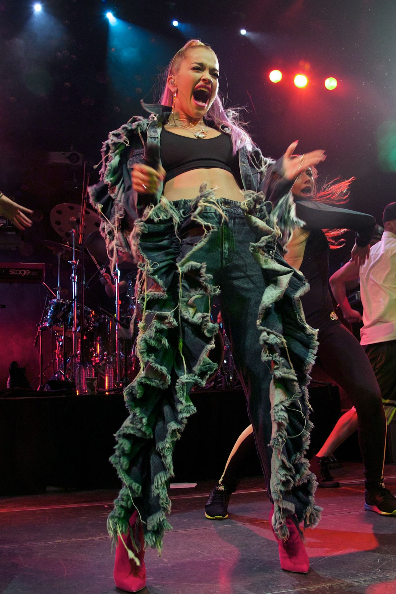 Rita Ora Performs at Joy Eslava in Madrid, Spain - July 2014
