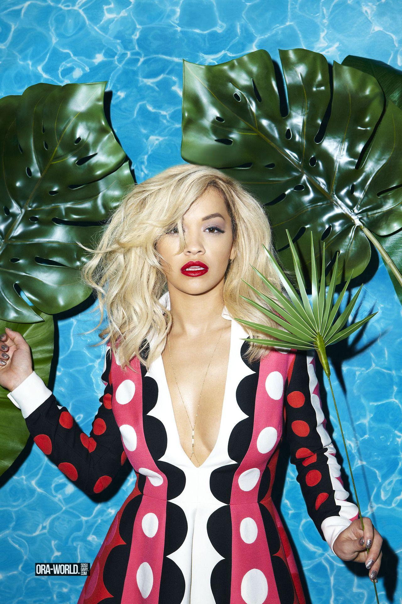 Photoshoot For Vogue Magazine November 2015: Rita Ora Photoshoot For Modzik Magazine