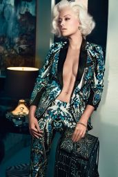 Rita Ora Photoshoot for Roberto Cavalli Campaign 2014/2015